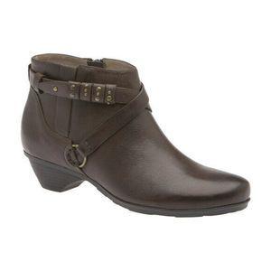 Abeo Nancy Brown Booties Size US 9.5 ( ) 5199